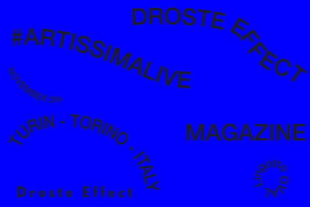 #ArtissimaLive, ArtissimaLive, Droste Effect, Droste Effect magazine, Artissima 2018, Turin, art fair, Artissima