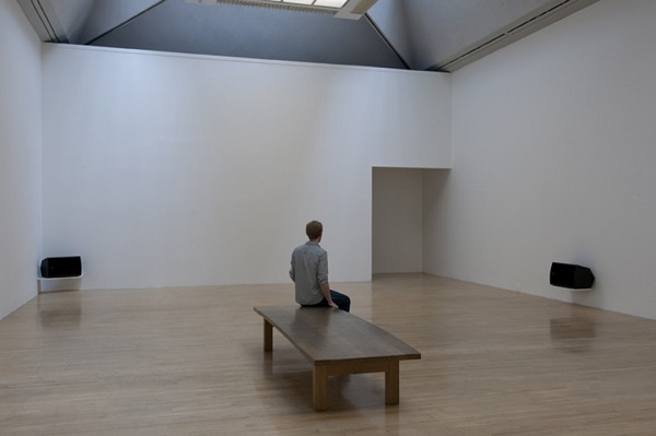 Susan Philipsz, installation view of the Turner Prize Exhibition  at Tate Britain London, 2010. Courtesy the artist and Galerie Isabella Bortolozzi, Berlin.