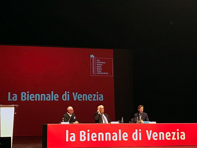 Paolo Baratta, Ralph Rugoff, Venice Biennale 2019, Venice Biennale, biennial, Venezia, Biennale di Venezia, la Biennale