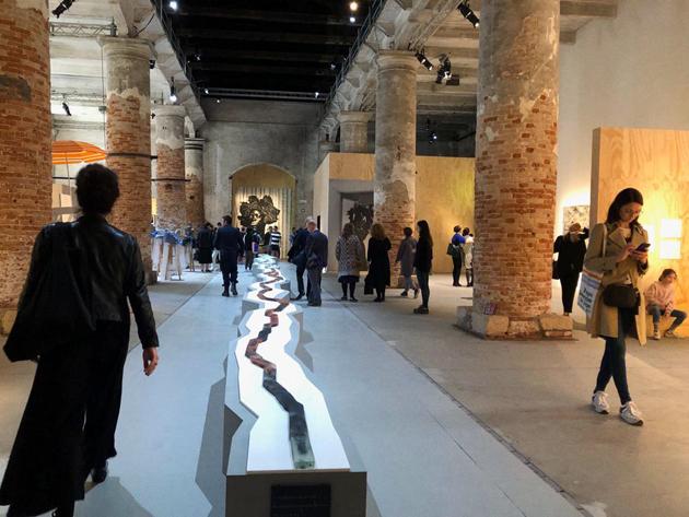 Otobong Nkanga, Arsenale, Special Mention, Venice Biennale 2019, Venice Biennale, biennial, Venezia, Biennale di Venezia, la Biennale