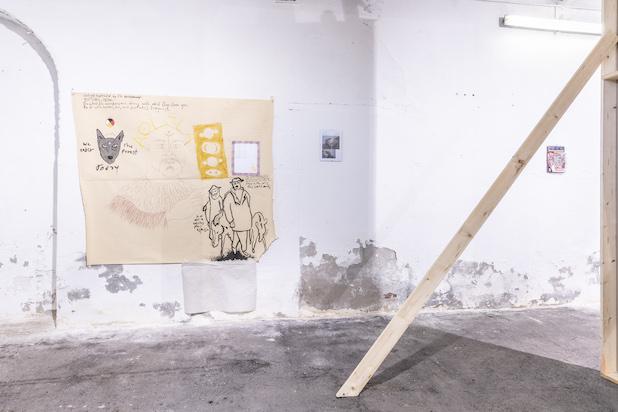 Juan Pablo Macías, Salvator Rosa gallery, exhibition view, Iacopo Seri La Vigna (2019). Photos by Ela Bialkowska, OKNO studio